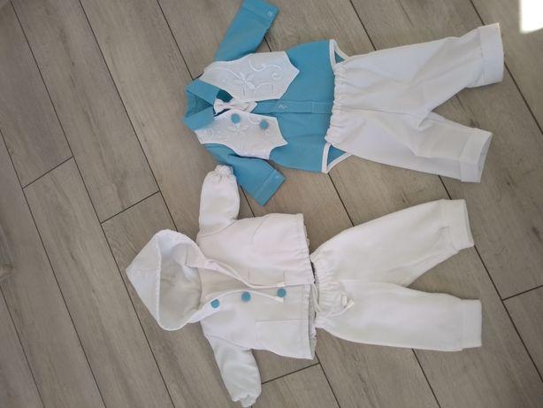 Ubranko do chrztu dla chłopca, rozmiar 62, 6 częściowy komplet