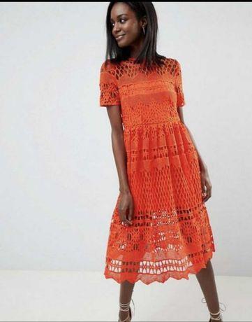Платье Assos дорогое кружево