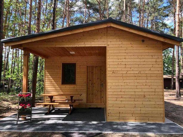 Świerkowy domek - domek wypoczynkowy w Boszkowie