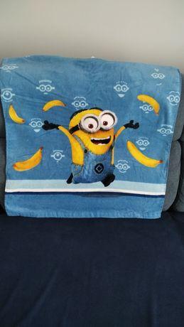 Ręcznik ponczo kąpielowe dla dzieci Minionki