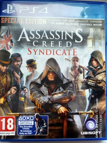 ps-4 Assassin's Creed Syndicate