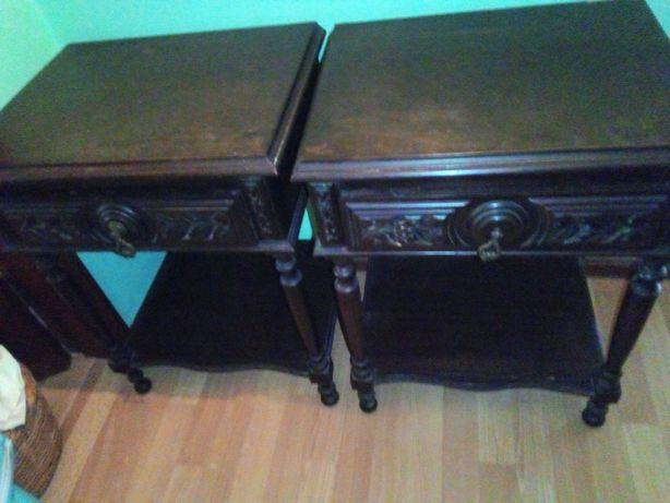 mesas de cabeceiras antigas