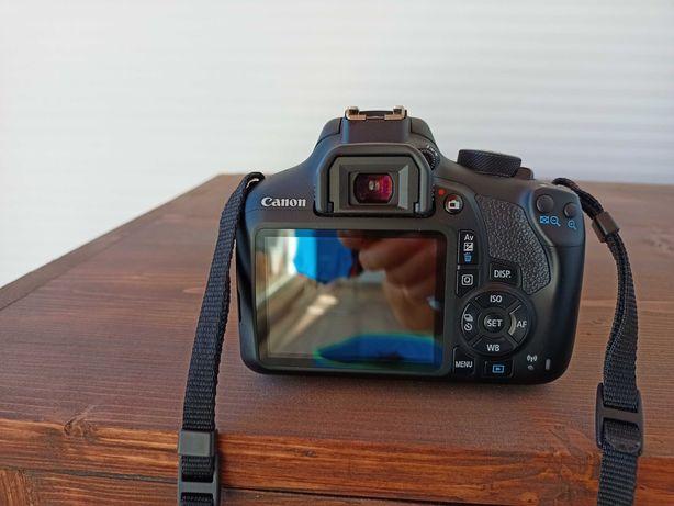 Canon 1300D Com Lente 18-55 II