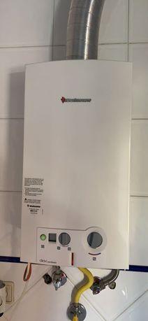 Esquentador ventilado vulcano (gás natural)