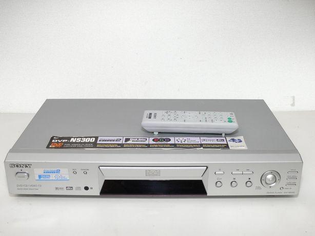 Odtwarzacz CD/DVD/ VCD SONY DVP-NS300 +Pilot idealny stan