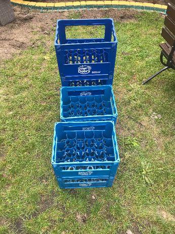 Skrzynki kontenery do soków i napojów 7 sztuk