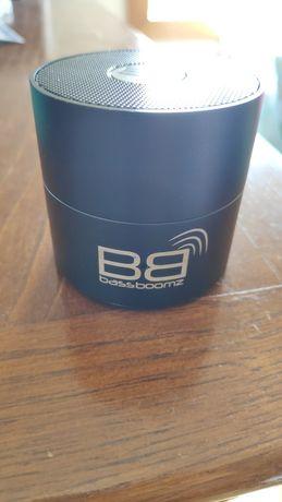 Coluna de som bluetooth BassBoomz