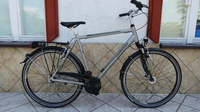 Rower WINORA - Alu, koła 28, Nexus 8 biegów, prądnica w kole