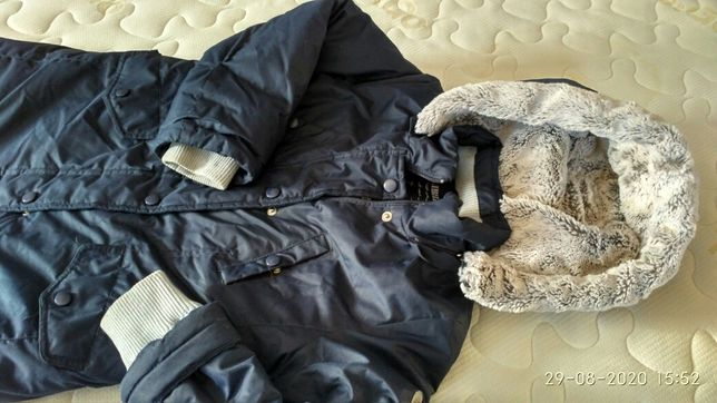 Зимняя куртка 122 см для девочки