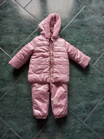 Kombinezon zimowy dla niemowlaka-dwuczęściowy