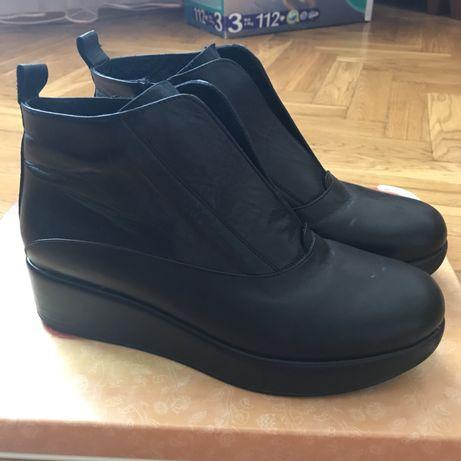 Ботинки как ZARA кожа натуральная