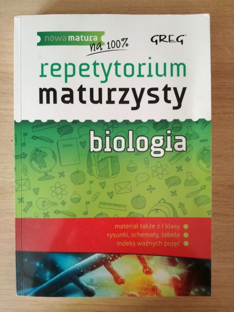 Repetytorium maturzysty Greg - biologia