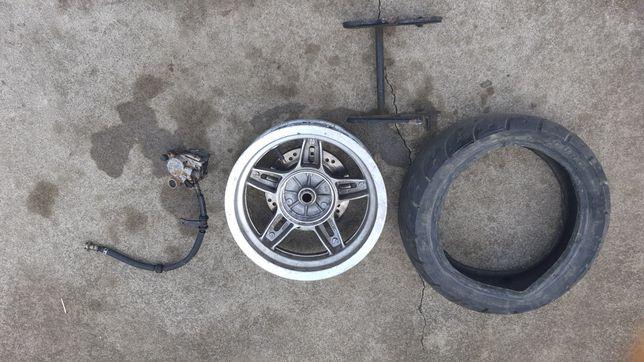 Заднє колесо 12 до 150 кубового скутера ціна 500 грн