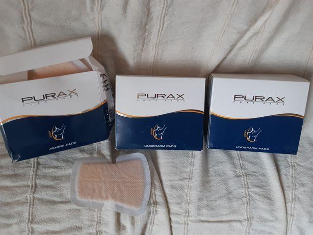Wkładki ochronne przeciw plamom potu Pax Pure Pads