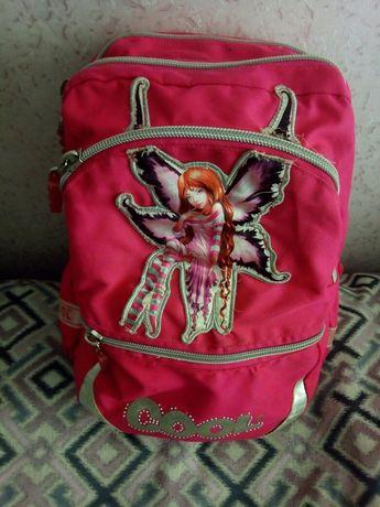 Рюкзак школьный для девочки.