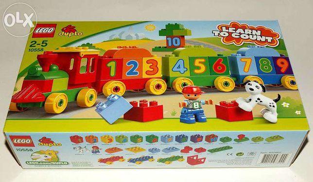 LEGO DUPLO Pociąg z Cyferkami Nr 10558, Powystawowy