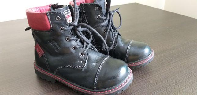 Lasocki skórzane buty