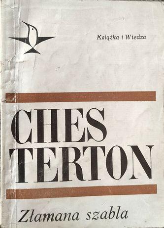 Złamana szabla - Chesterton