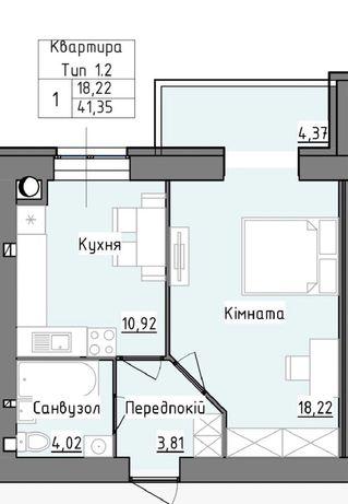 1-о кімнатна квартира. Власник. 22.000$