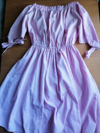 Розовое платье)