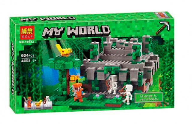 """Конструктор Bela Minecraft 10623 """"Храм в джунглях"""", 604 элемента лего"""