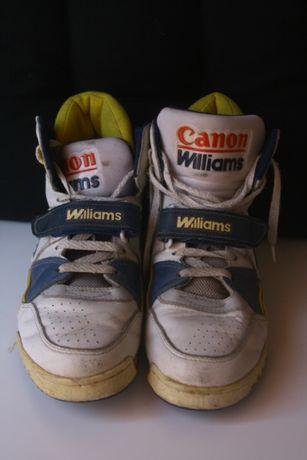 Sapatilhas Vintage Canon Williams Renault F1 1991
