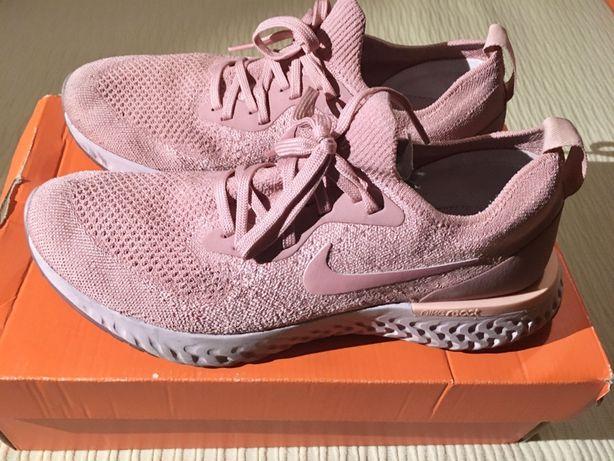 Sapatilhas Nike React rosa salmão (40.5)