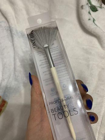 pedzel do makijażu twarzy beauty tools do rozswietlacza
