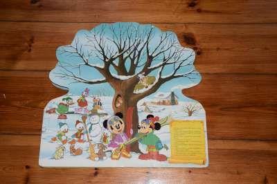 książka kartonowa duża Disney Drzewo czterech pór roku
