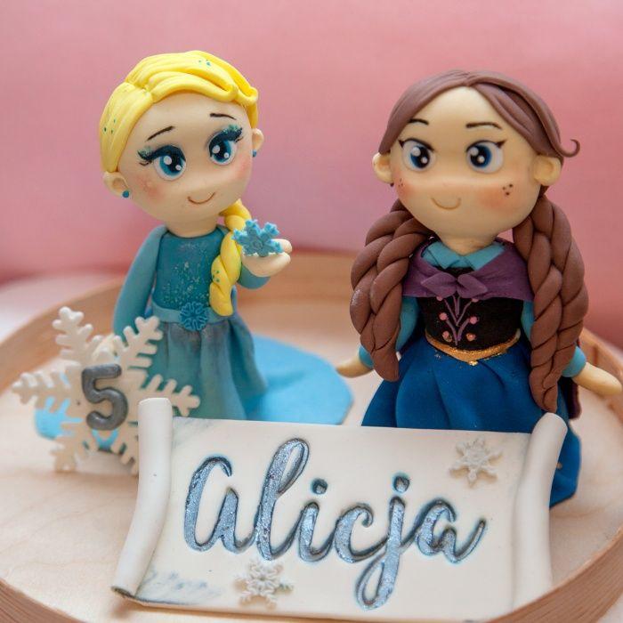 Figurki na tort z masy cukrowej Warszawa - image 1