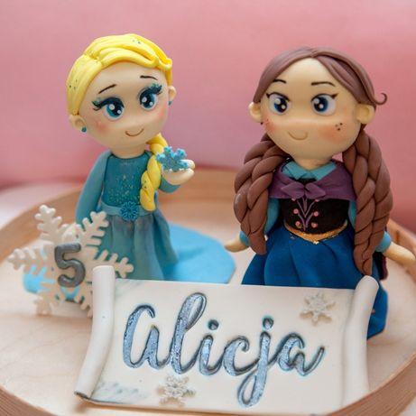 Figurki na tort z masy cukrowej