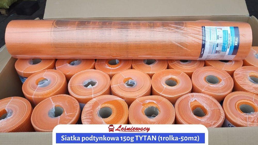 Siatka Elewacyjna Podtynkowa Ocieplenie TYTAN 150g/m2 PROMOCJA Wysyłka