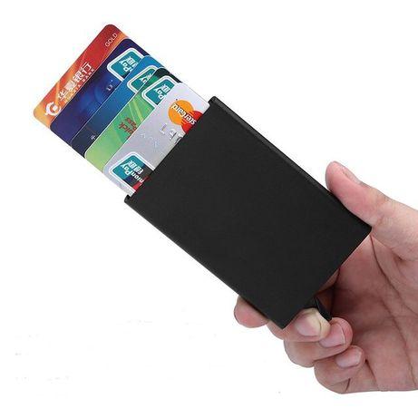 Carteira homem porta cartões RFID