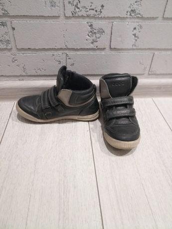 Демисезонные кожаные ботинки Ecco29 р,копки Nike 31,5