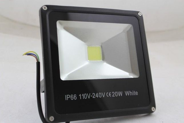 HALOGEN LED 20W NAŚWIETLACZ LAMPA reflektor slim hit cenowy mocno świe