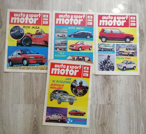 Czasopisma auto motor sport z 1991 r. Dla kolekcjonera
