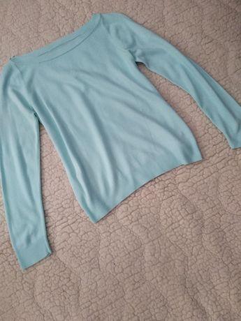 Mietowy sweter r.L/XL