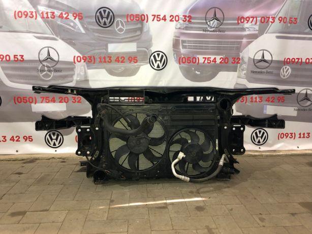 Радиатор VW Caddy Passat B6 Пасат Touran Golf Гольф 5 Jetta диффузор