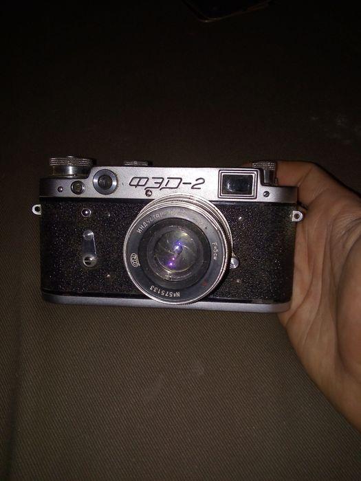 Sprzedam stary Radziecki aparat fotograficzny,model FED 2.Stan dobry Warszawa - image 1