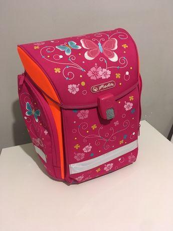 Школьный каркасный ранец herlitz butterfly для девочки и сумка д овуви