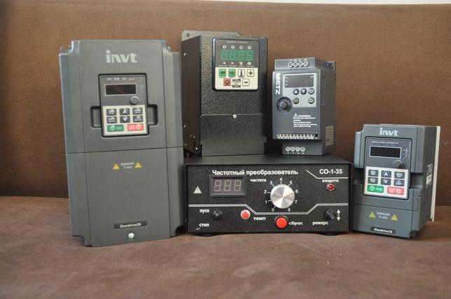 Частотный преобразователь CFM 110 частотник электродвигатель INVT