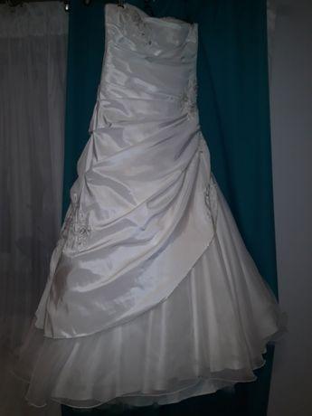 Suknia ślubna tanio r. 40