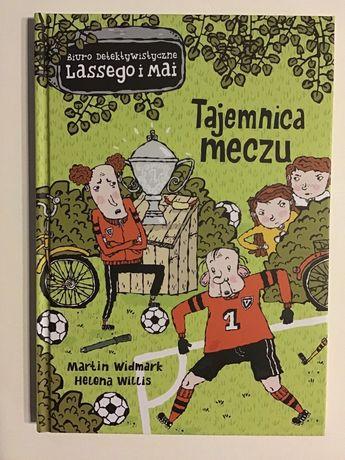 Tajemnica meczu- biuro detektywistyczne Lassego i Mai- nowa książka