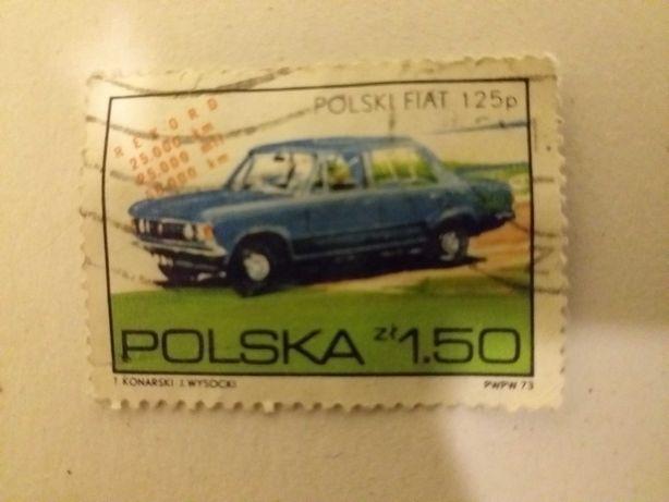 Znaczek Fiat 125p