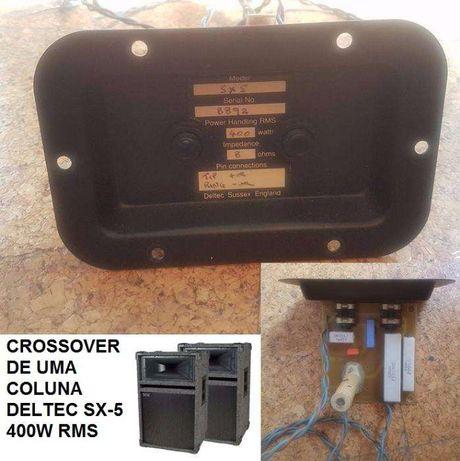 Crossover 2 vias (era de uma coluna Deltec SX5)