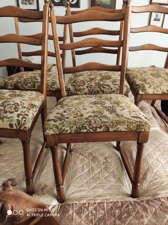 Krzesła drewniane/5sztuk