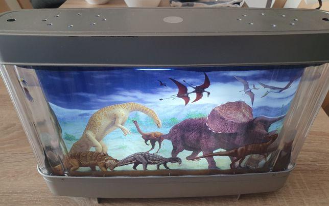 Lampa dziecieca - dinozaury