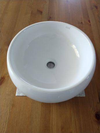 Umywalka nablatowa okrągła miska 40 cm Cooke & Lewis, nowa
