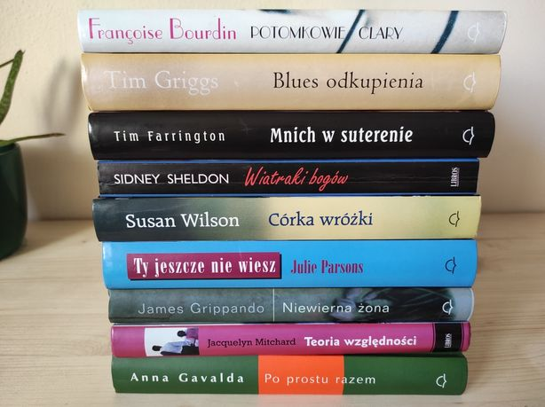 Książki różne wyd Świat Książki