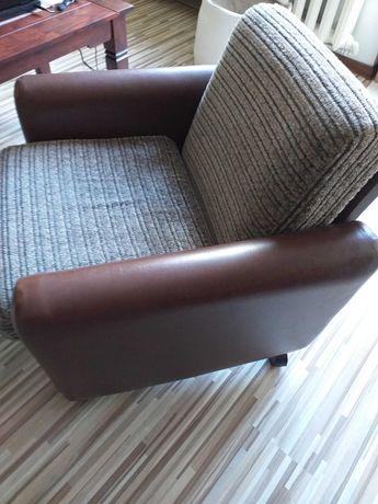 Fotel na kółkach prl